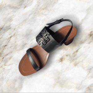 Tory Burch Melinda Sandal with Block Heel 8.5